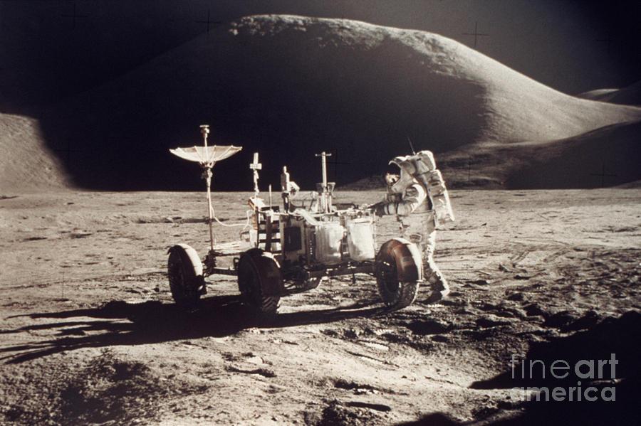 1971 Photograph - Apollo 15, 1971 by Granger