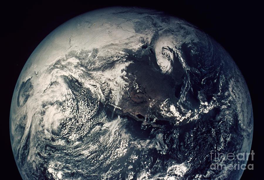 1970s Photograph - Apollo 16: Earth by Granger