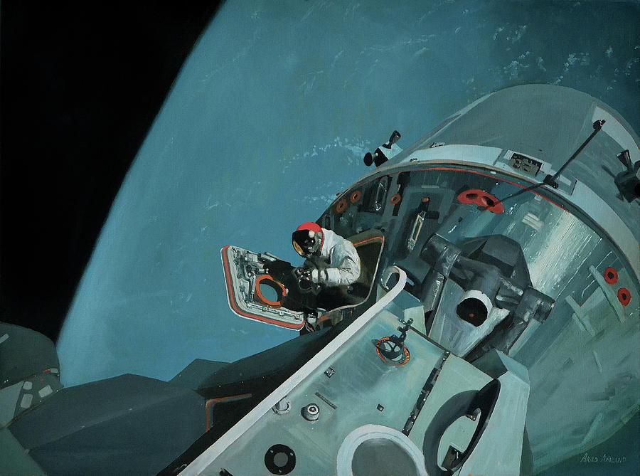 Space Painting - Apollo by Arild Amland