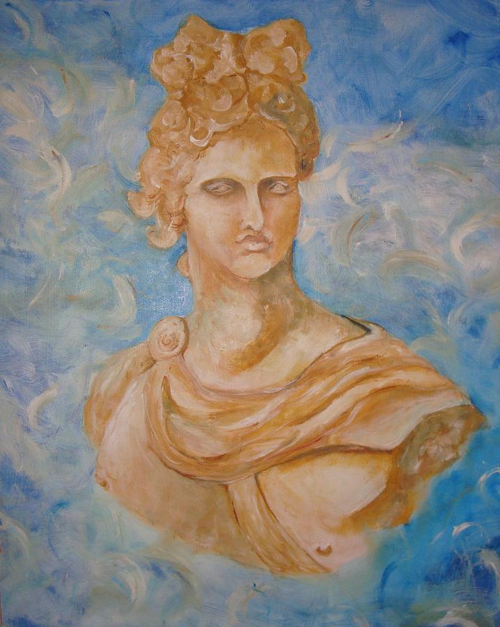 Greek Mythology Painting - Apollo by Ashley Seymour