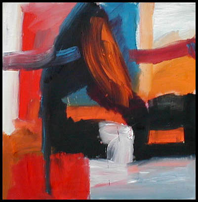 Abstract Expressionism Painting - Apostrophe II by Robert Standlee