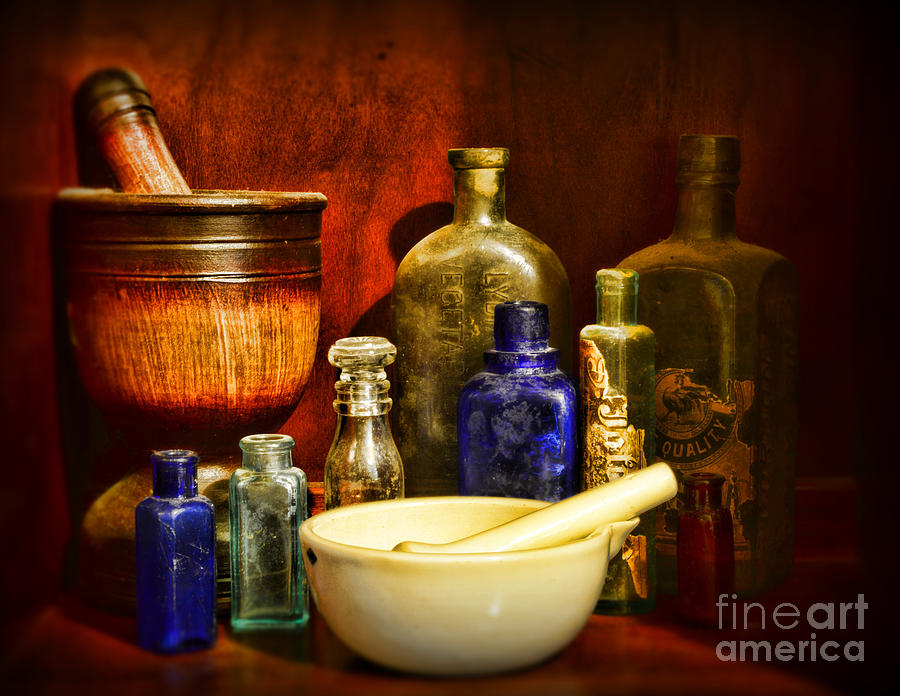 Paul Ward Photograph - Apothecary - Tools Of The Pharmacist by Paul Ward