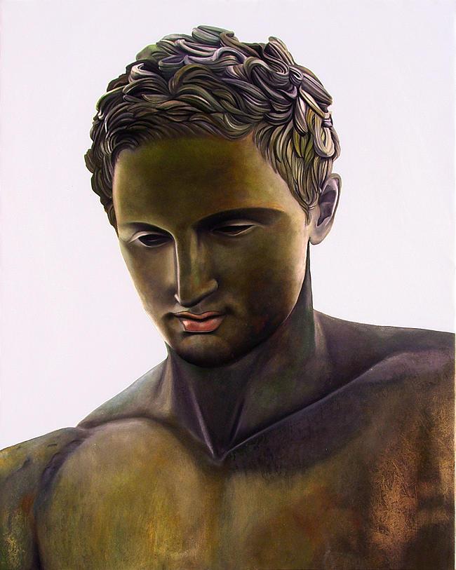 Painting Painting - Apoxyomenos - Greek Statue by Matthew Bates
