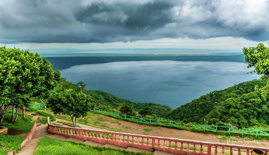 Nicaragua Photograph - Apoyo Lagoon by Michael Santos