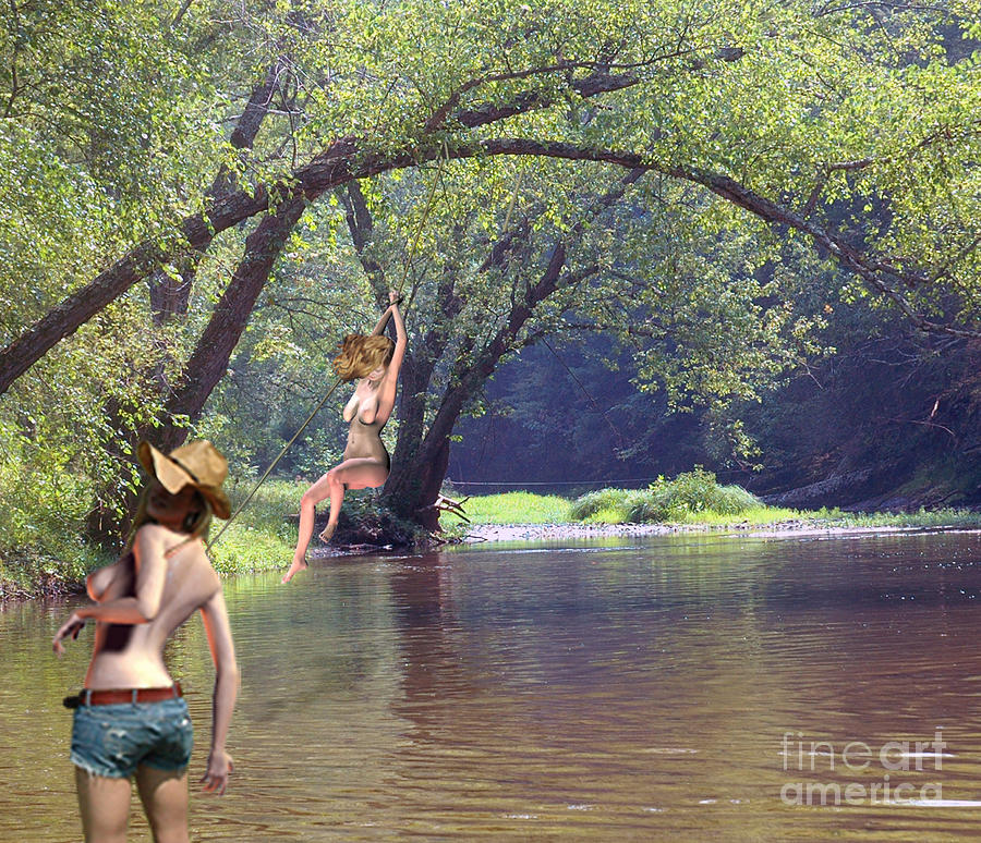 Appalachian Rope Swing Photograph By Broken Soldier
