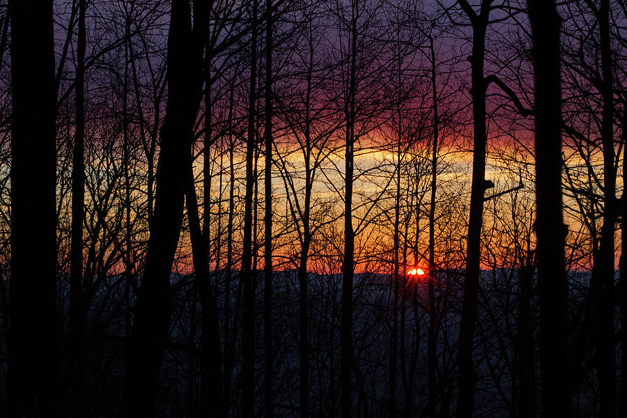 Appalachian Sunrise Photograph