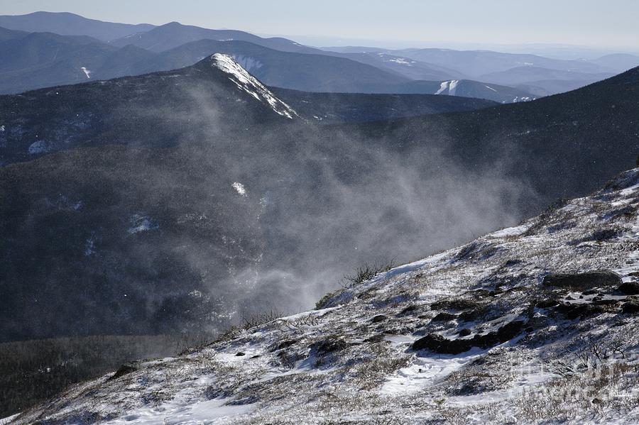 Franconia Ridge Photograph - Appalachian Trail - Franconia Ridge-white Mountains New Hampshire by Erin Paul Donovan
