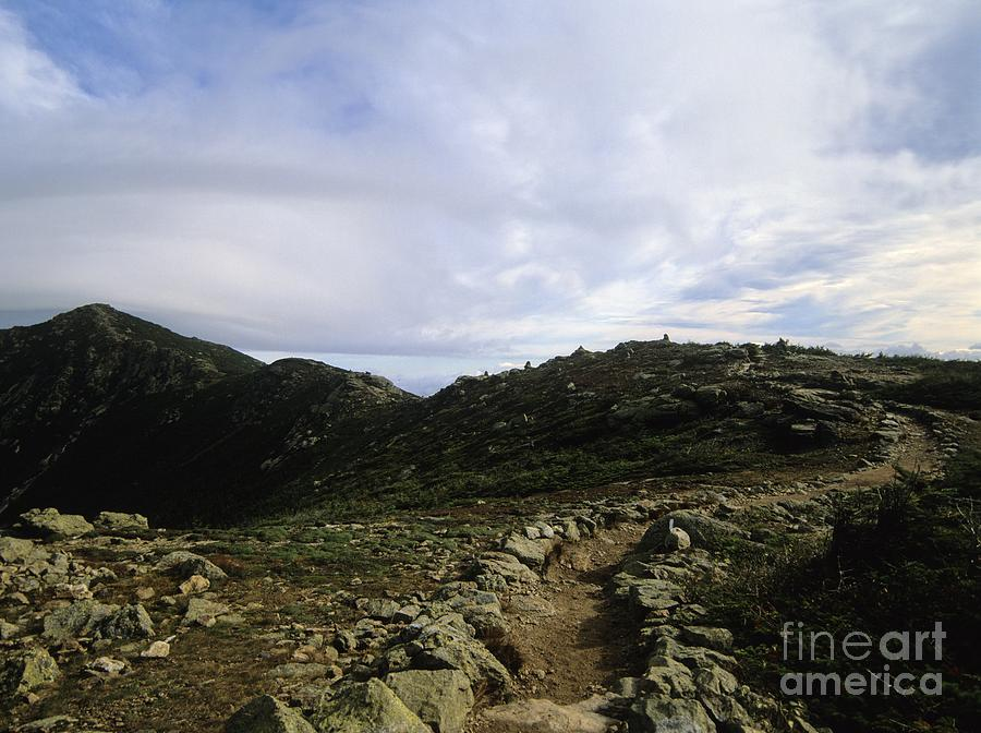 Appalachian Trail Photograph - Appalachian Trail - Mount Lincoln - White Mountains New Hampshire Usa by Erin Paul Donovan