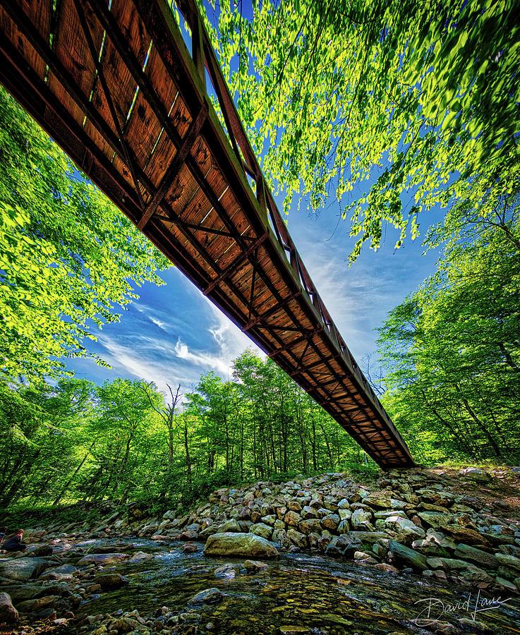 Appalachian Trail Foot Bridge by David A Lane