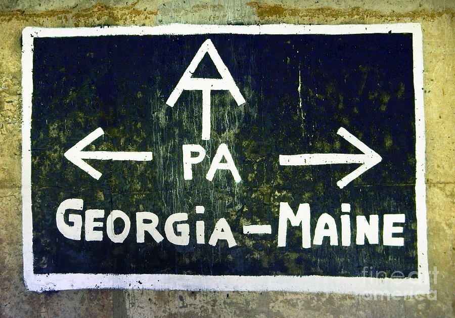 Appalachian Trail Sign by Glenn Gordon