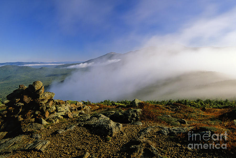 Adventure Photograph - Appalachian Trail - White Mountains New Hampshire Usa by Erin Paul Donovan