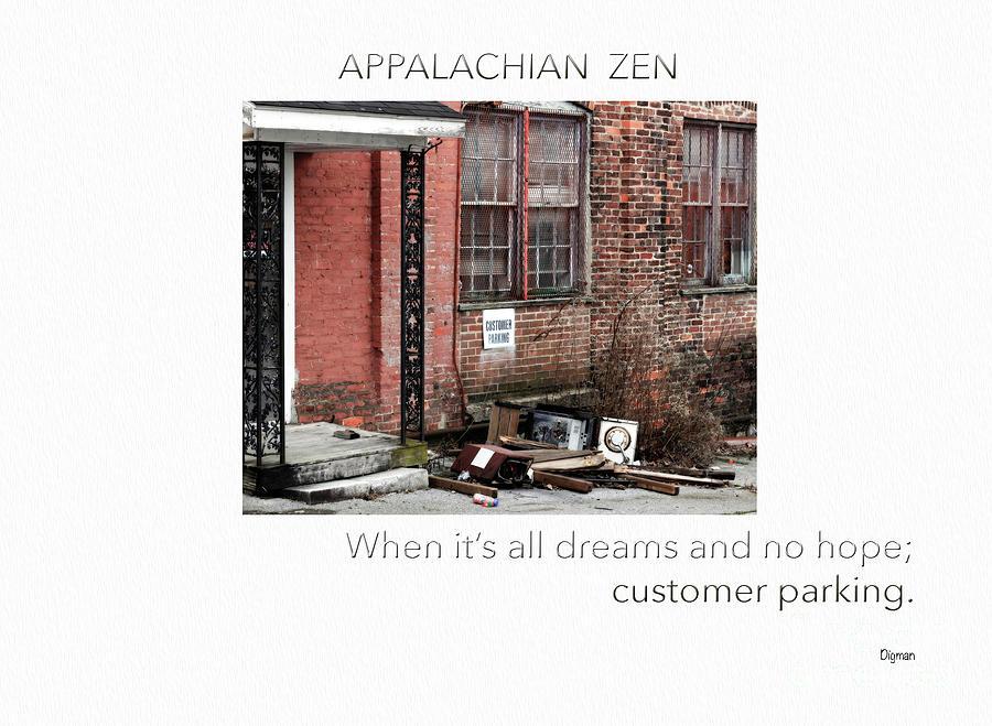 Zen Photograph - Appalachian Zen by Steven Digman