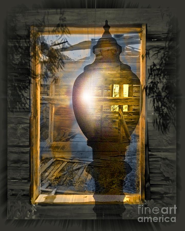 Ghost Digital Art - Apparition by Chuck Brittenham