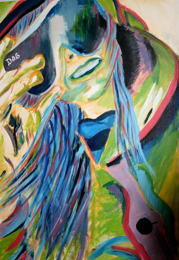 Girl Painting - Apperal by Casey Jones