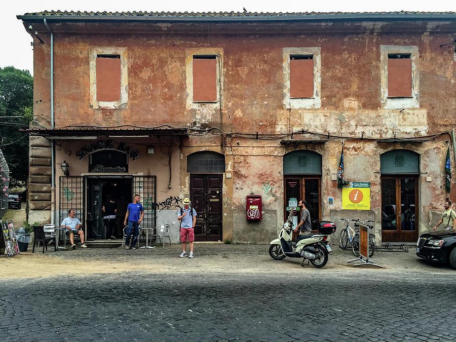 Appian Way Photograph - Appia Antica Break by Joseph Yarbrough