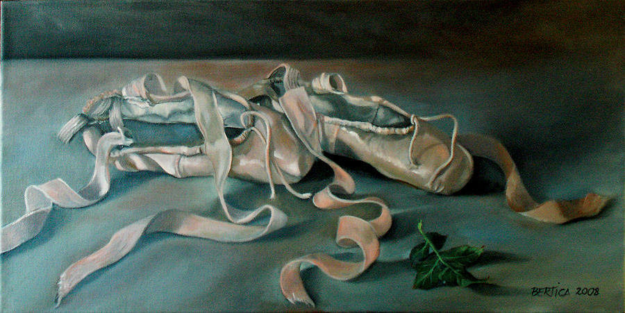 Ballet Slippers Painting - Applause by Bertica Garcia-Dubus