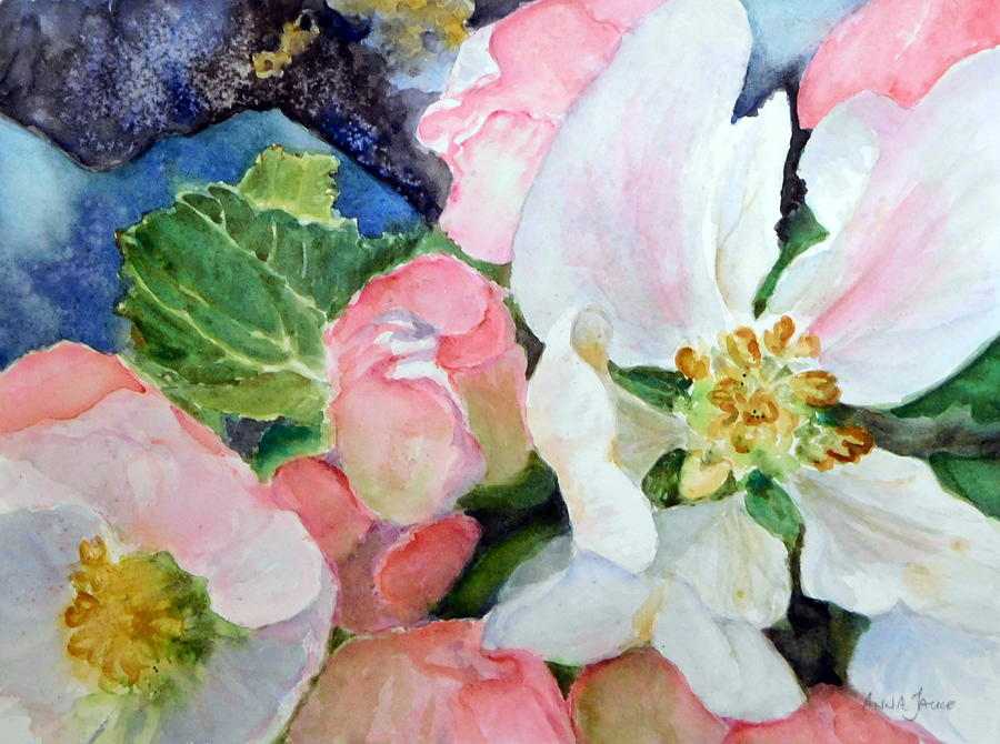 Apple Blossom Time by Anna Jacke