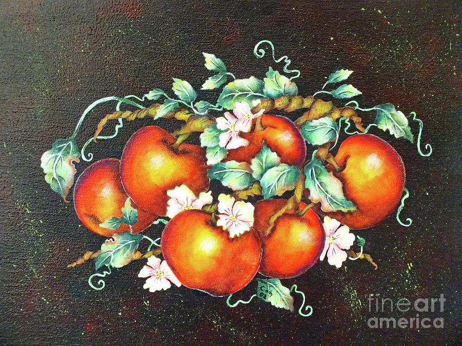 Apple Blossom Time Painting