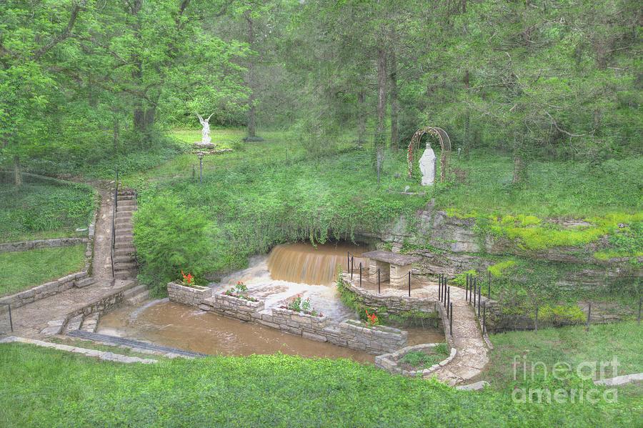 Hdr Digital Art - Apple Creek Missouri  by Larry Braun