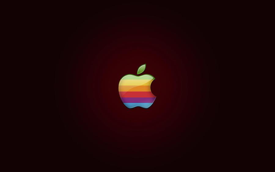 Apple Digital Art - Apple by Dorothy Binder