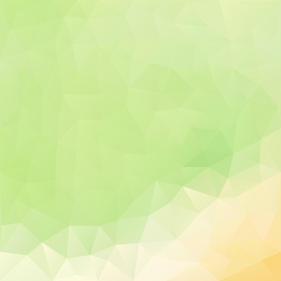 Geometric Digital Art - Apple Juice Geometric Design by Nessikk