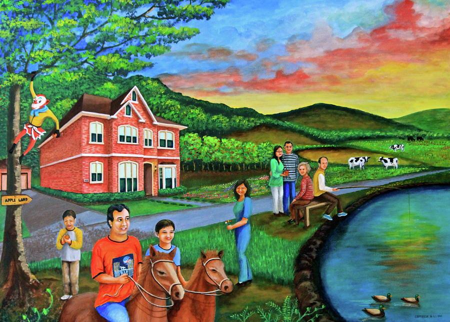 Apple Land Painting