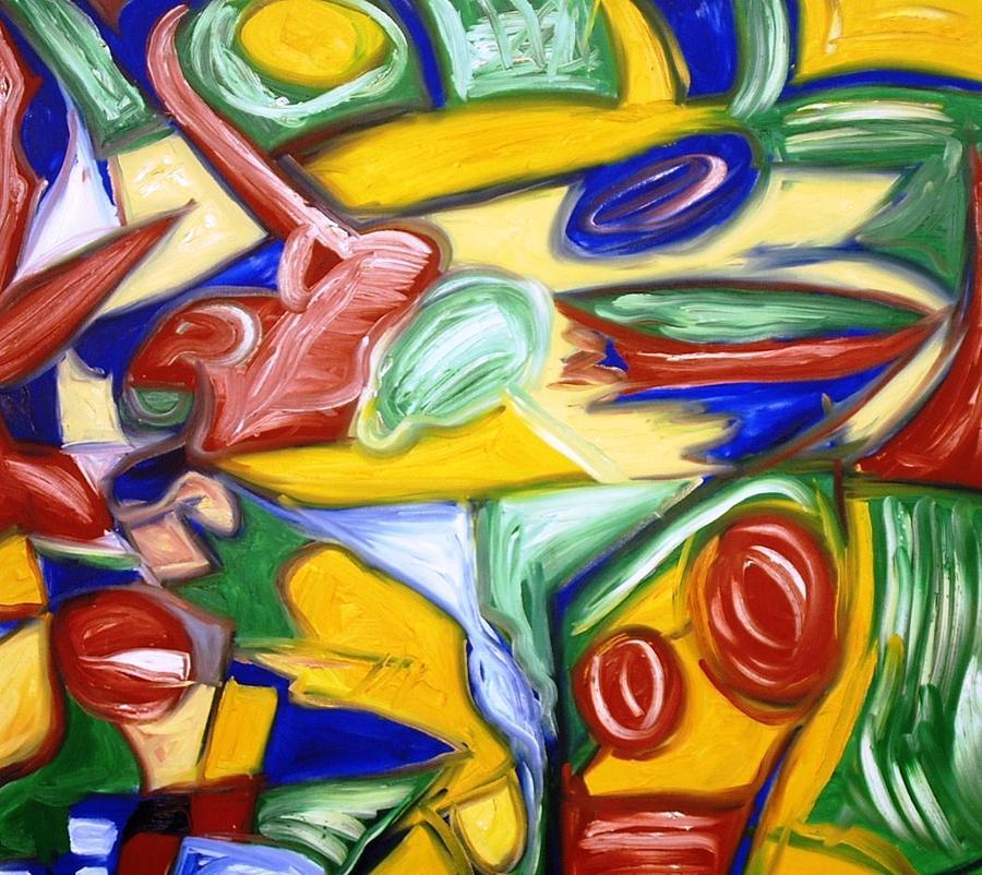 Oil Painting Painting - Apple Martini  by Alfredo Dane Llana