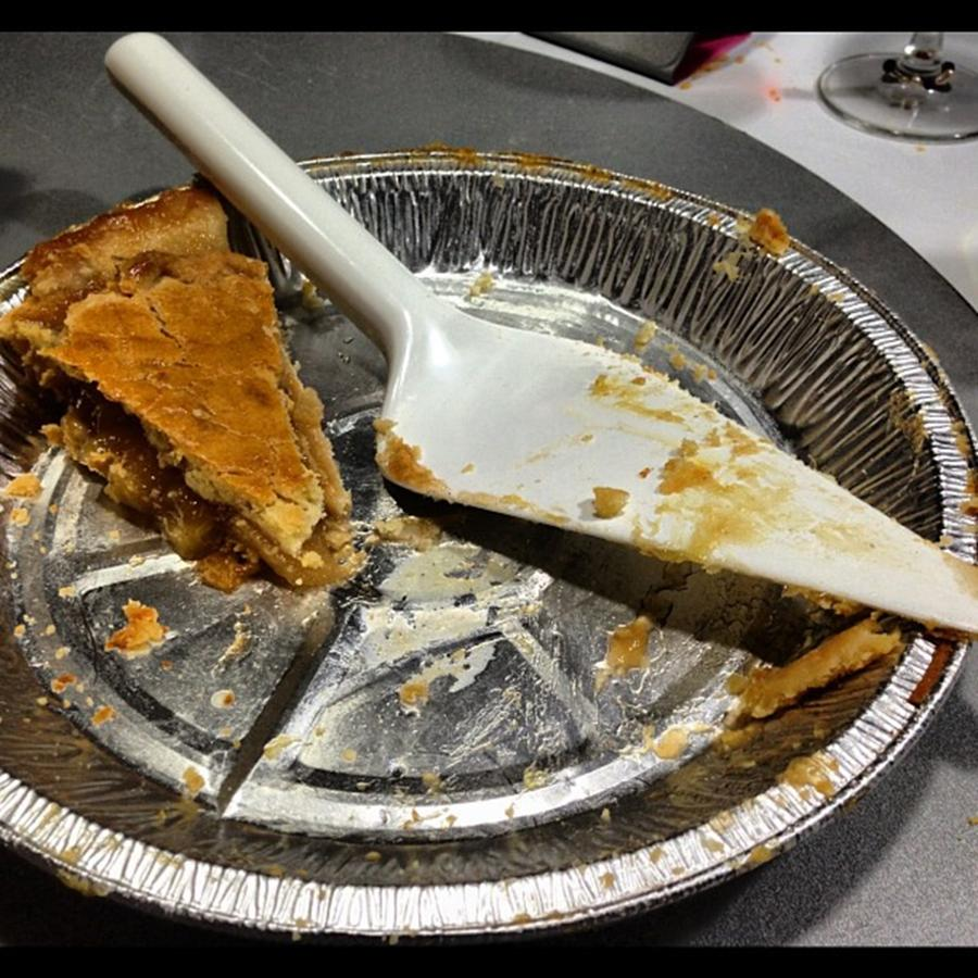 Apple Pie Leftover Photograph by Juan Silva