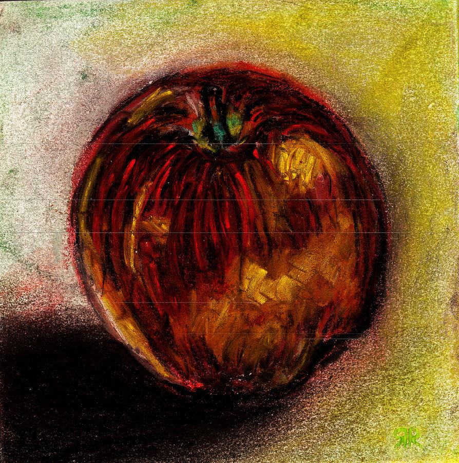 Apple Pastel - Apple  by Rashmi Rao