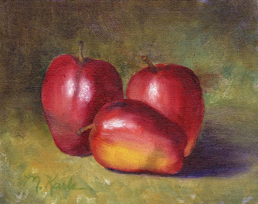 Apple Still Life by Marsha Karle