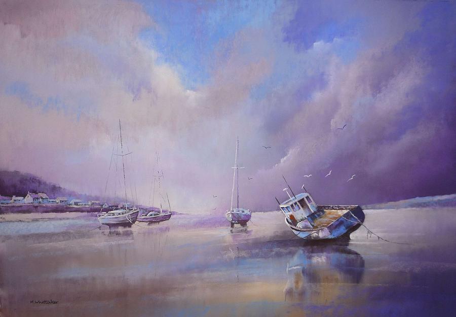 Pastel Painting - Appledore North Devon by Mark Whittaker