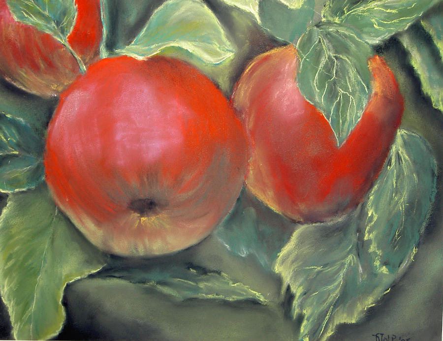 Apples Painting by Dick Stolp
