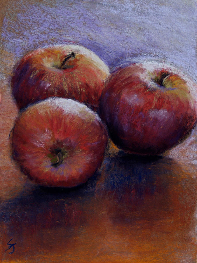 Still Life Pastel - Apples IIi by Susan Jenkins