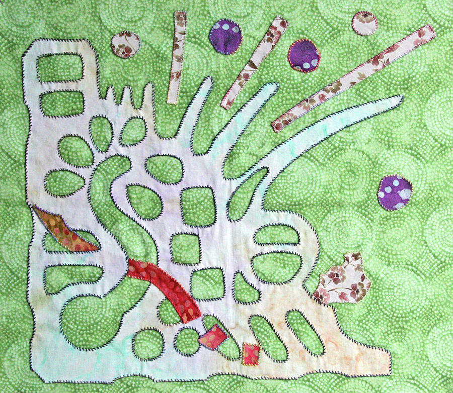 Applique Tapestry - Textile - Applique 7 by Eileen Hale
