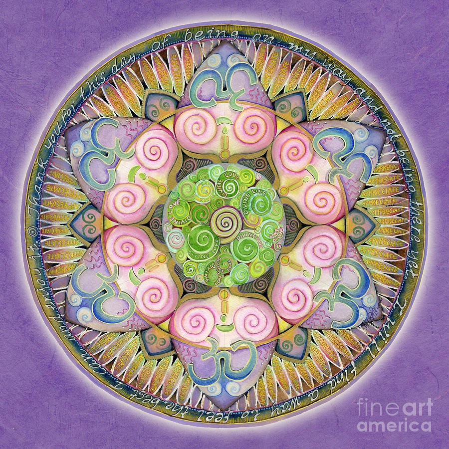 Appreciation Mandala by Jo Thomas Blaine