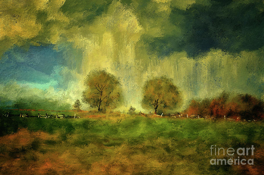 Civil War Digital Art - Approaching Storm At Antietam by Lois Bryan