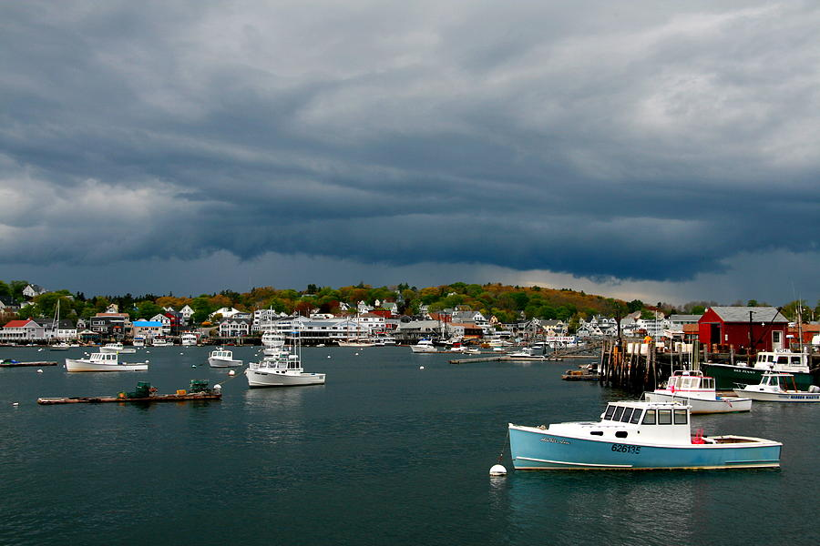 Maine Photograph - Approaching Storm by Bill Keiran