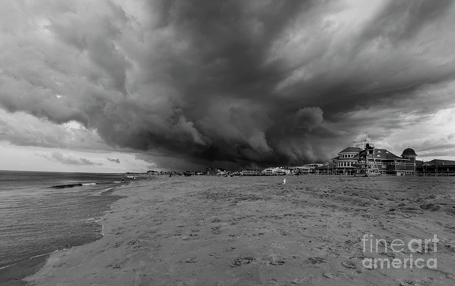 Hampton Beach Photograph - Approaching Storm by Bruce Coulter