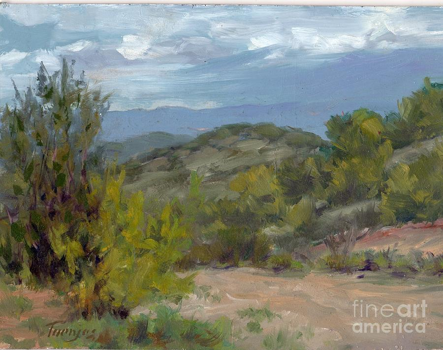 Approaching Storm over Verde Valley by James H Toenjes