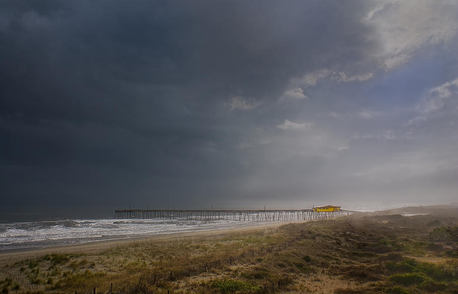Cape Hatteras Photograph - Approaching Thunderstorm by Andreas Freund