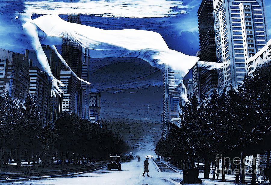 Deluge Digital Art - Apres Moi Le Deluge by Kenneth Rougeau