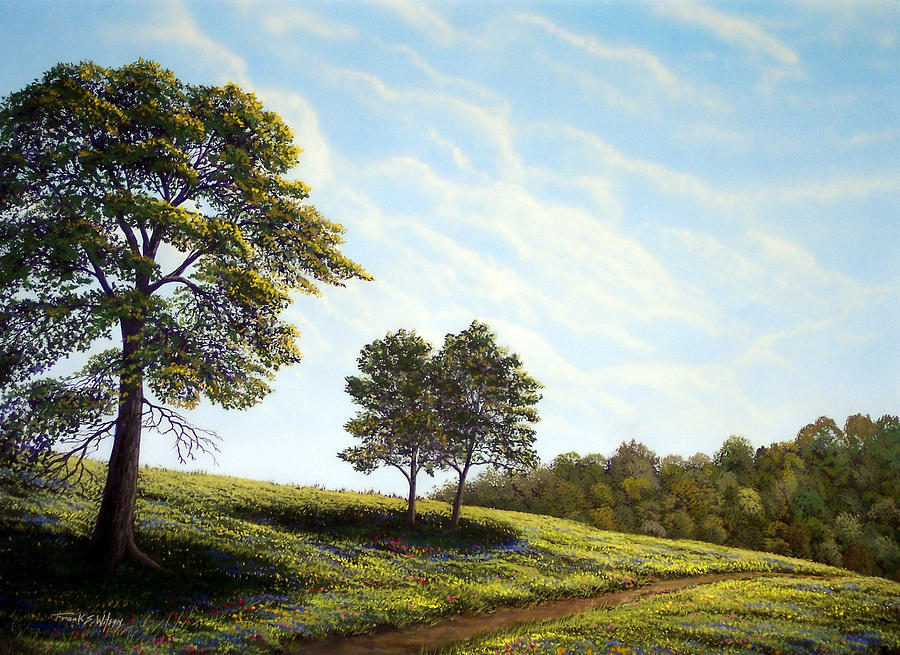 Wilderness Painting - April Afternoon by Frank Wilson