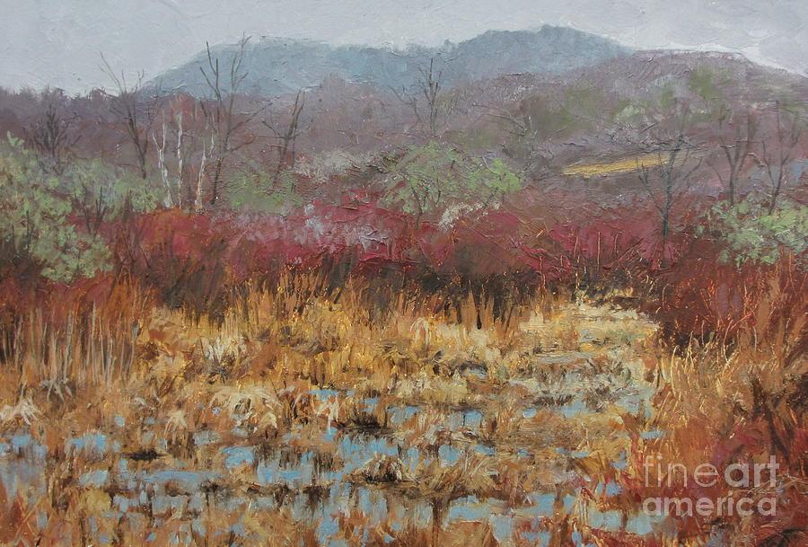 Landscape Painting - April Awakens by Sherri Anderson