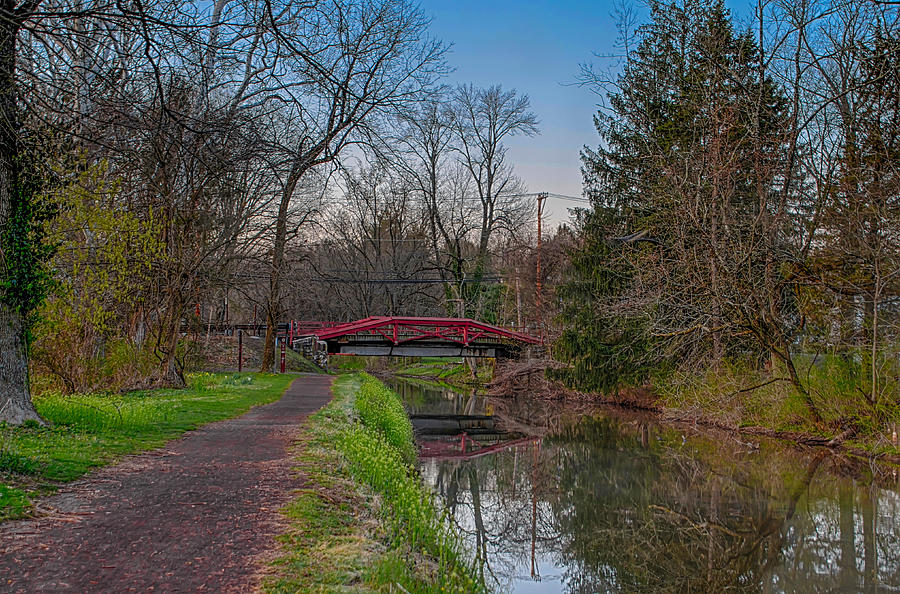 April Photograph - April In Washingtons Crossing by Bill Cannon