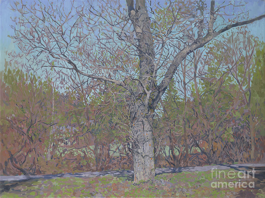 April Painting - April by Simon Kozhin