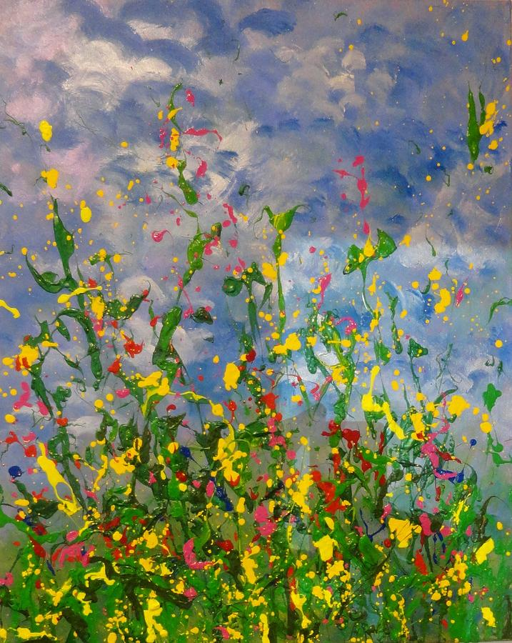 April Showers by Susan Anderson