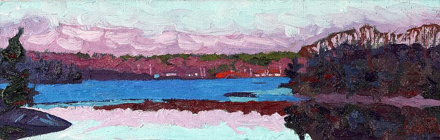 Cloud Painting - April Sunrise Singleton by Phil Chadwick