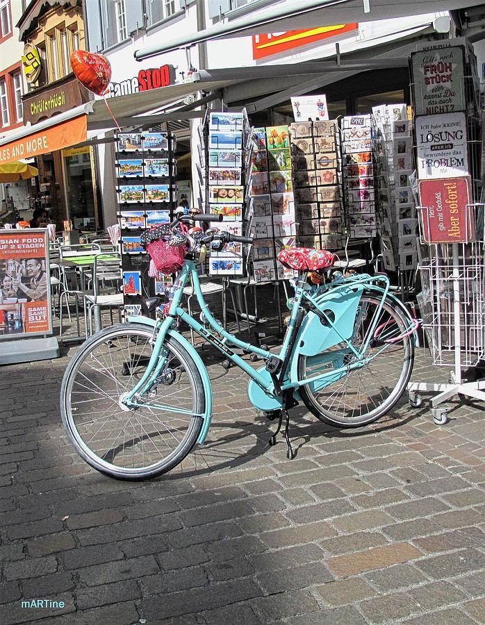 Aqua Bike Photograph