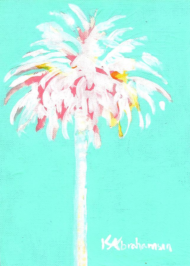 Aqua Marine Palm by Kristen Abrahamson
