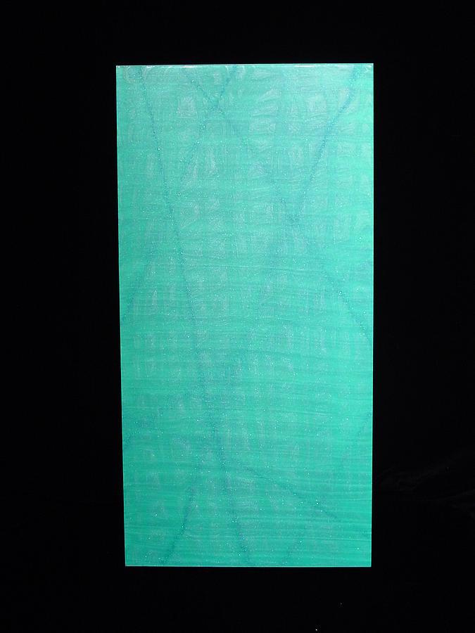 Aqua Painting by Michael  Simon